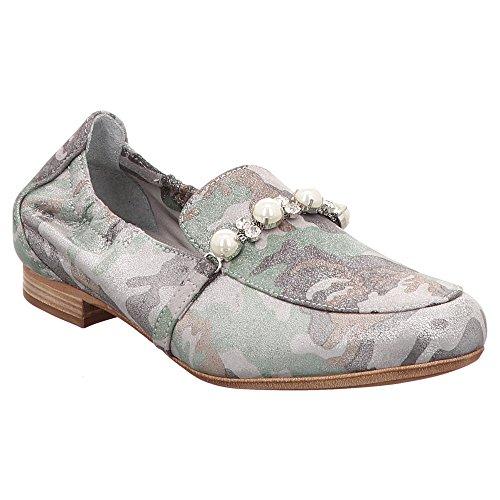 Maripé Maripe | Slipper | Perlen - Grün | Burma Mility Caribe, Farbe:Grün;Größe:38