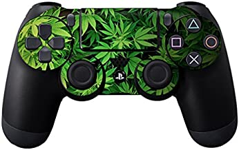 MightySkins Skin Compatible with Sony PS4 Controller - Weed | Protective, Durable, and Unique Vinyl Decal wrap Cover | Easy to Apply, Remove, and Change Styles | Made in The USA