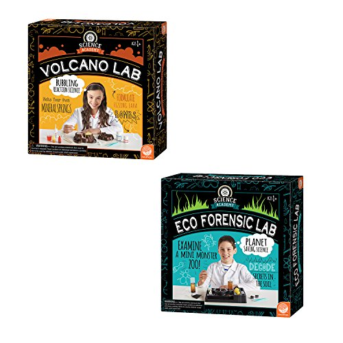 MindWare Science Academy Curious Kits (Volcano and Eco Forensic Labs)
