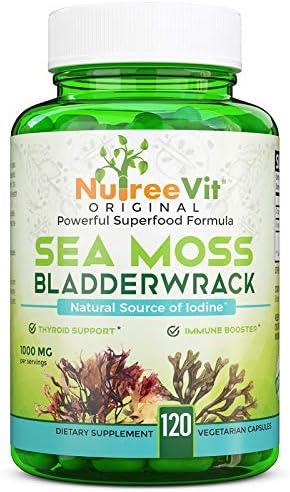 NutreeVit 100% Max 78% OFF Organic Natural Source of Moss + - Sea Iodine Bla Luxury
