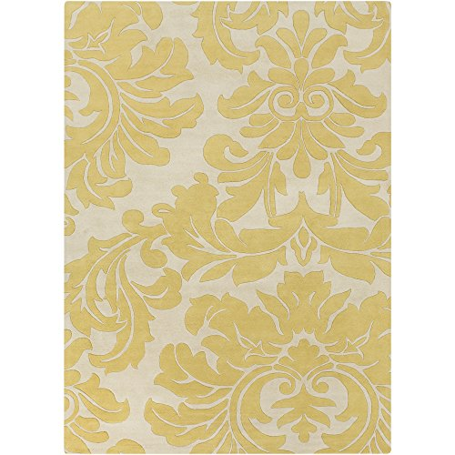 Surya Athena Hand Tufted Transitional Rug, 8-Feet by 11-Feet, Split Pea