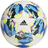 adidas Finale Top Training Ball Balón de Fútbol, Hombres, Multicolor (White/Bright Cyan/Solar Yellow/Shock Pink), 5