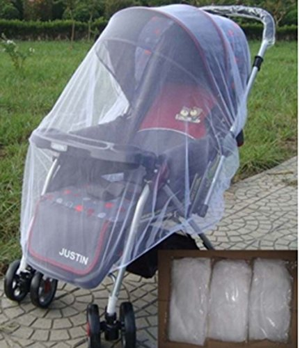 Mosquito Baby Net Yosoo Mosquito Net Toddler Bed Crib Canopy Mosquito Netting Fits Most Strollers Bassinets, Cradles and Car Seats