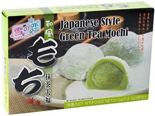 Green Tee Mochi / grüner Tee Mochi 210g