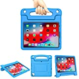 Kids Case for 2020 New 10.9' iPad Air 4th Generation / iPad Pro 11' 2020 & 2018 Case Lightweight Shockproof Convertible Protection Case with Built-in Handle Stand Tablet Cover (Blue)