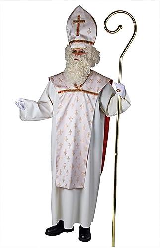 Horror-Shop Bischofs Kostüm für den Weißnachtsman