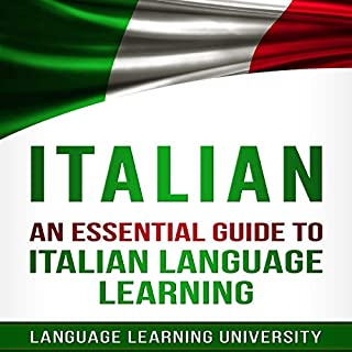 Italian: An Essential Guide to Italian Language Learning cover art