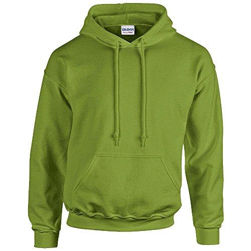 Gildan Pull à capuche pour homme 50/50 Sweat à capuche 18500 - Uni - Vert - L