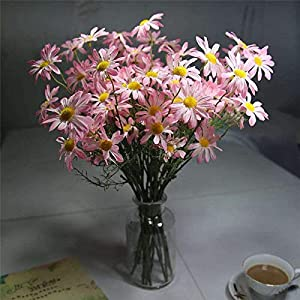 Artificial and Dried Flower Chrysanthemum Artificial Small Daisy Cosmos Artificial Fower Bud Flower Small Wild Chrysanthemum Fake Flower