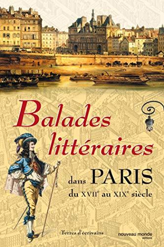 Balades littéraires dans Paris