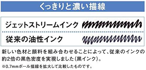 三菱鉛筆多機能ペンジェットストリーム2&10.5ブラックMSXE380005.24
