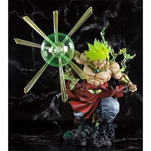 MNZBZ Anime Figures Dragon Ball The Super Warriors Figura Especial-Super Saiyan Broly-23cm.