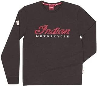 Indian Motorcycle Men's Long Sleeve Logo Tee Black - 3XL