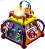 Product Image of the WolVolk Educational Kids Toddler Baby Toy Musical Activity Cube Play Center with...