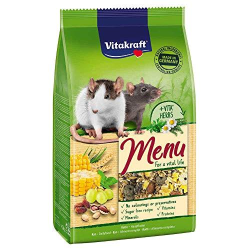 Vitakraft - Sachets Fraîcheur Premium Menu Vital pour Rats - 800g