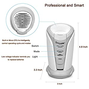 BestFire® Mini Ionic Freshener Deodorizer Purifier for Refrigerators Closets Bathrooms