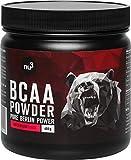 nu3 BCAA en polvo - 400 g sabor sandía - 40 porciones de aminoácidos ramificados - Proporción óptima de leucina, isoleucina y valina en 2:1:1 - Suplemento deportivo - Nutrición deportiva vegana