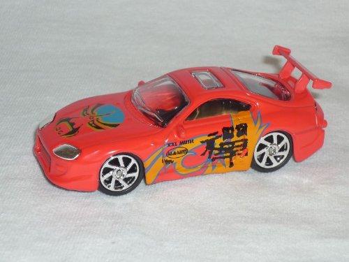 Mondo Motors Toyota Supra Mk4 Mkiv Rot Orange Tuning 1/64 1/60 1/55 Modellauto Modell Auto