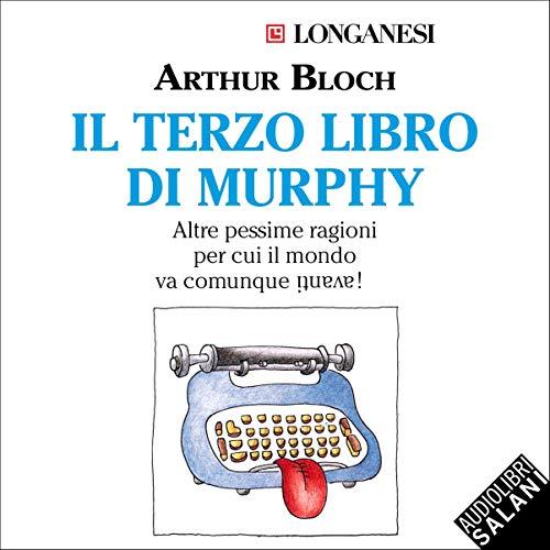 Diseño de la portada del título Il terzo libro di Murphy
