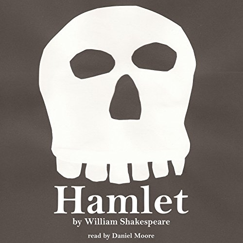 William Shakespeare's Hamlet audiobook cover art