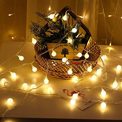 Dpliu-JJ String Light Luci Decorative Indoor/Outdoor Natalizia LED Stellata, Stile della Batteria è Sempre Bright Lights for la Festa di Compleanno di Natale casa di Cerimonia Nuziale Tabella