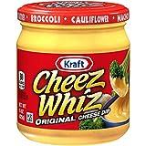 Cheez Whiz Original Plain Cheese Dip (15 oz Jar)