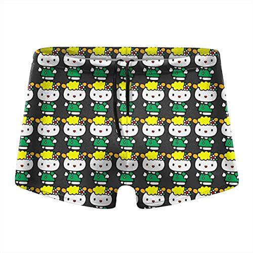 Hello Kitty Fifi Men Beach Swimming Boxer Brief Swimwear Underwear Board Shorts