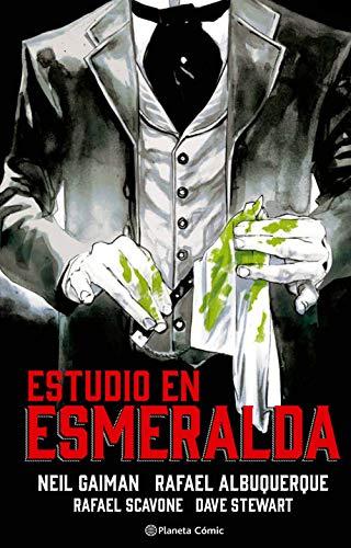 Estudio en esmeralda (novela gráfica) (Biblioteca Neil Gaiman)