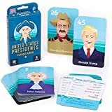 U.S. Presidential Flash Cards - Current and Up to Date Study Tool for United States Presidents Washington Through Trump - Perfect Memorization, Studying, Learning, and Teaching Assistant
