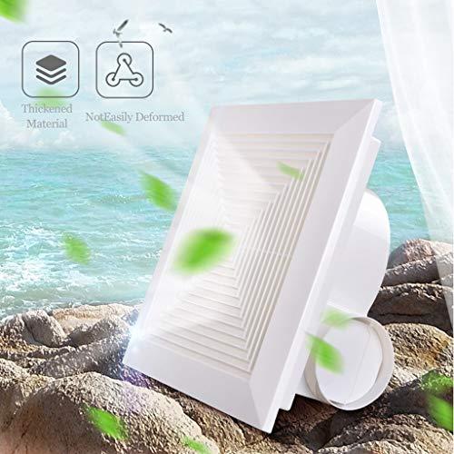 Deckenabzugshaube Küche Badezimmer Haushalt Leistungsstarke Mute Deckenlüftungsventilator Geeignet For Normale Decken ZHAOSHUNLI 20/7/7 (Size : 12 inches)