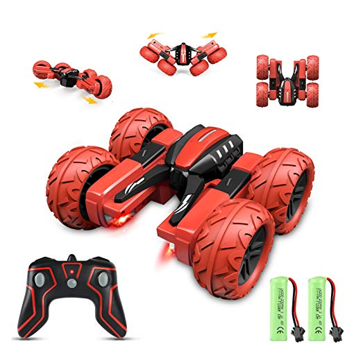 Apsung RC Stunt Car, Remote Control Car for Kids, 4WD Trucks RC Crawler Vehicles Toys 360° Flips Rotation Off Road for Kids Age 4,5,6,7,8 Birthday Gifts