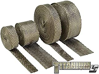 Design Engineering 010127 Titanium Exhaust Heat Wrap with LR Technology, 2