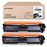 ZIPRINT Compatible Toner Cartridge Replacement for HP 94A CF294A for use with HP Laserjet Pro M118dw MFP M148dw MFP M148fdw Printer (Black, 2-Pack)