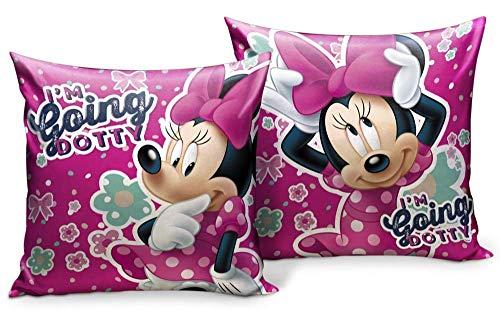 Star Disney Minnie Art. Code- 55899 - Cuscino stampato, dimensioni: 35 x 35 cm