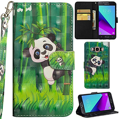 Ooboom Samsung Galaxy Grand Prime Funda 3D Flip Folio Wallet Case Cover Carcasa...
