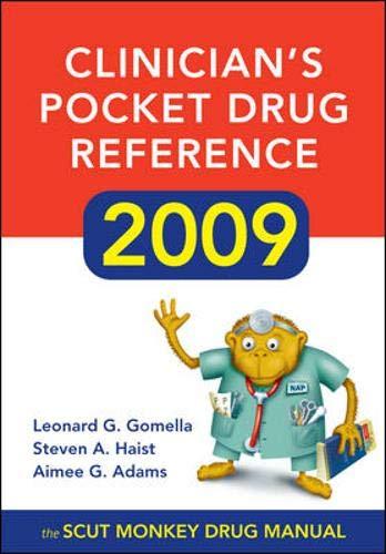 Clinician's Pocket Drug Reference 2009
