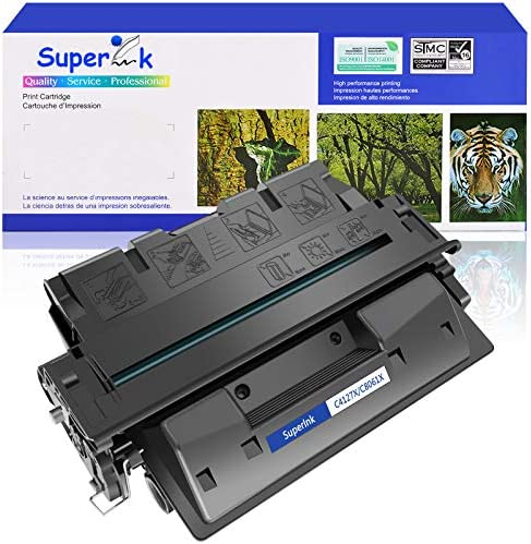 SuperInk High Yield Compatible Toner Cartridge Replacement for HP 27X C4127X to use with Laserjet product image