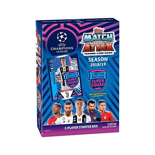 Topps Match Attax 2018/19 UEFAチャンピオンズリーグ サッカー トレーディングカードゲーム スターターボックス