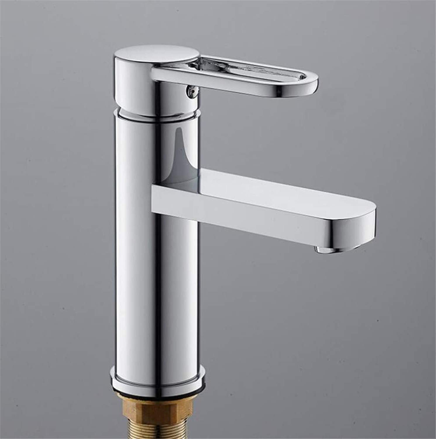 Bathroom Sink Basin Lever Mixer Tap European Minimalist Bathroom Faucet Lifting Cold and Hot Water Mixing Faucet Basin Faucet