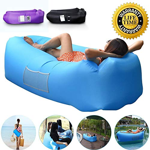 Anglink Outdoor Inflatable Lounger Couch, Thick Durable...