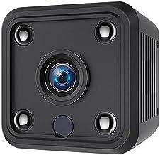Eastdall Mini Câmera,Mini câmera com suporte magnético 1920 * 1080 Câmeras de segurança domésticas portáteis Câmera de seg...