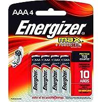 4-Count Energizer Max Alkaline AAA Batteries