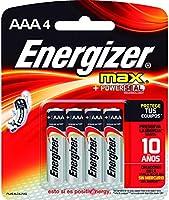 Energizer AAA Batteries, Max Alkaline, 4 Count