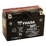 Batteria sigillata Yuasa YT9B-BS 12 V 8 Ah 120 CCA acido incluso