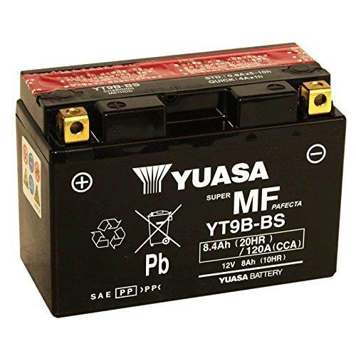 Batteria sigillata Yuasa YT9B-BS 12 V 8 Ah 120 CCA