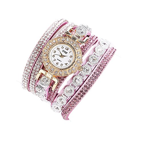 Sunnywill CCQ Damen Schöne Mode Design Strass Armband für Weibliche (Purple)