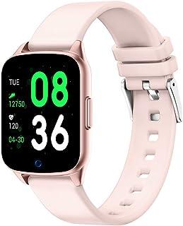 LIGE Smart Watch Women with Heart Rate Monitor Blood Pressure Women Smart Bracelet Fitness Tracker IP68 Waterproof for Men...