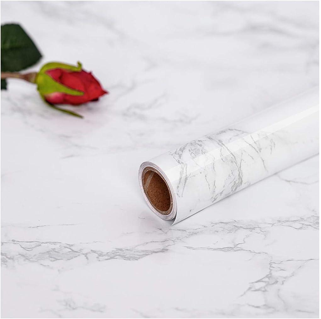 Carta adesivo marmo per mobili carta da parati marmo 45x200cm bainca hode H-100002