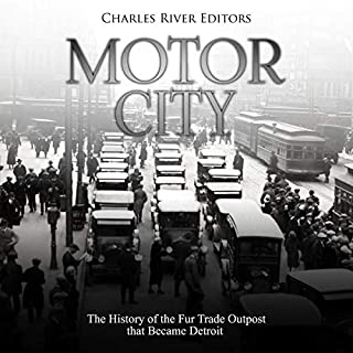 Motor City audiobook cover art