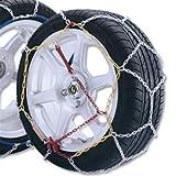 ALEKO Size 60 Passenger Car Snow Chain - 12mm Pair
